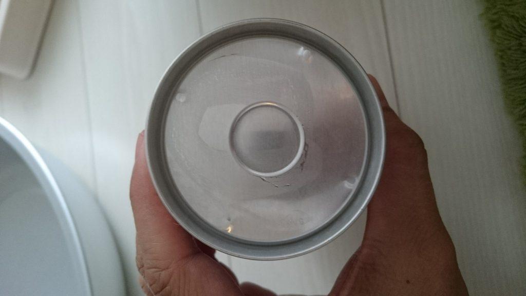 アサヒ 三ツ矢サイダー ニッポンは缶の底も若干厚みがある気がします。