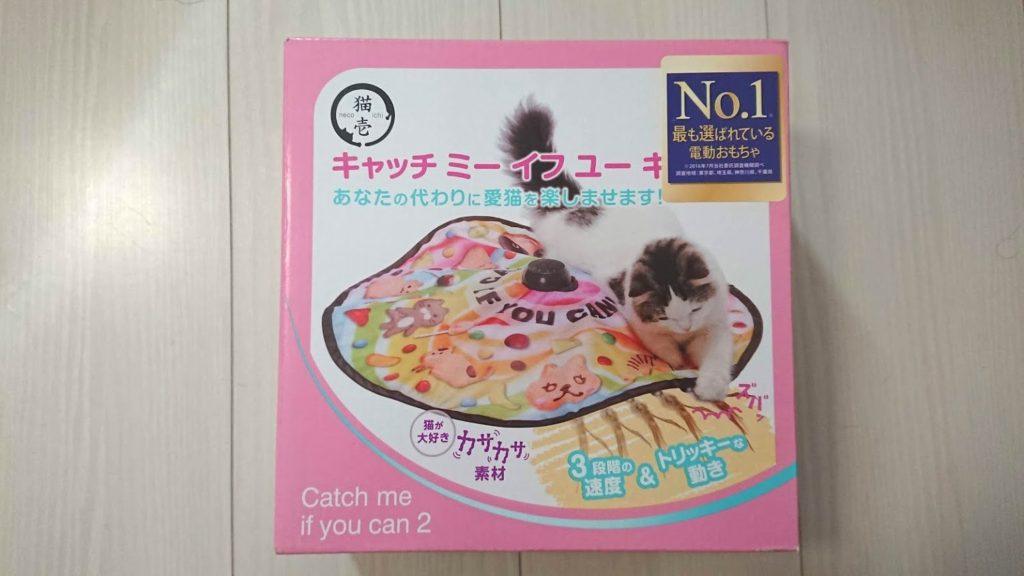 猫壱「キャッチ・ミー・イフ・ユー・キャン2」の外箱正面。