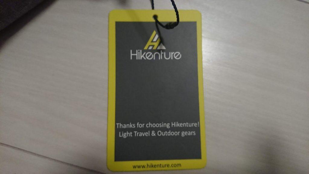 Hikenture「エアピロー」のタグ(表)