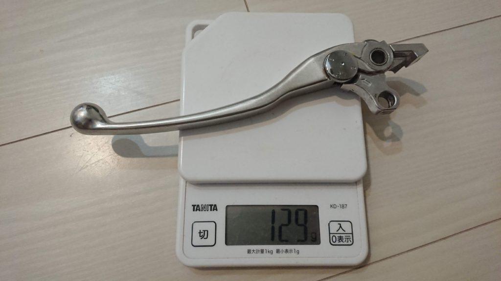 VMAX純正クラッチレバーの重さ。