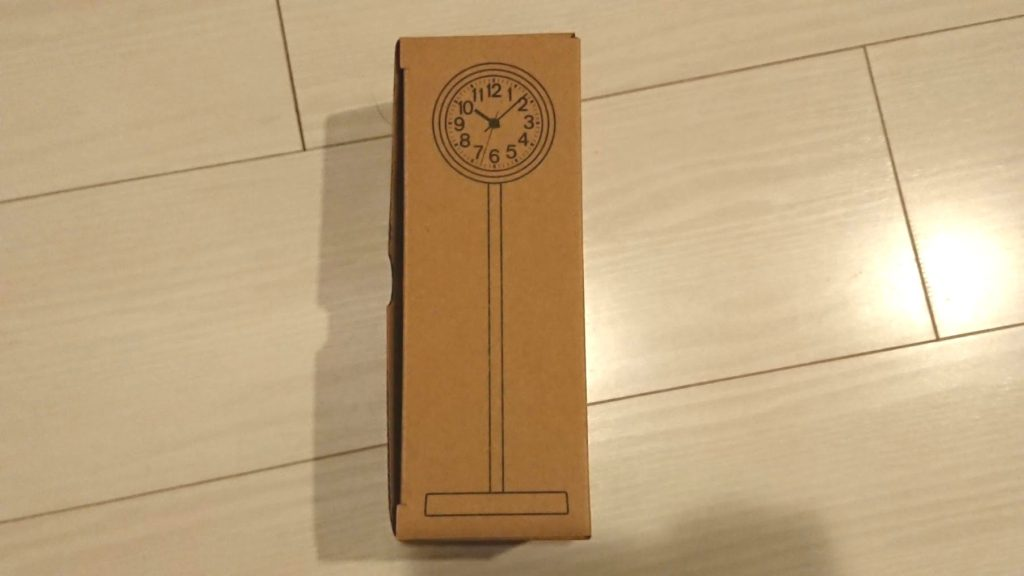 公園の時計・ミニのパッケージ。