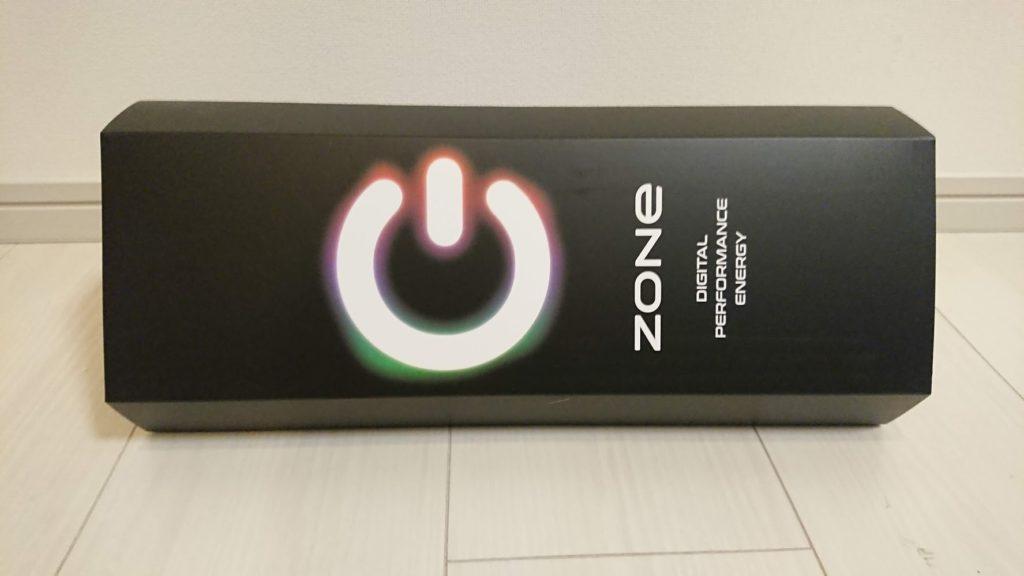 サントリー「ZONe β Ver.0.8.5」のパッケージ。