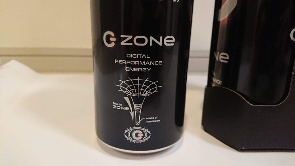 サントリー「ZONe β Ver.0.8.5」の缶表面。