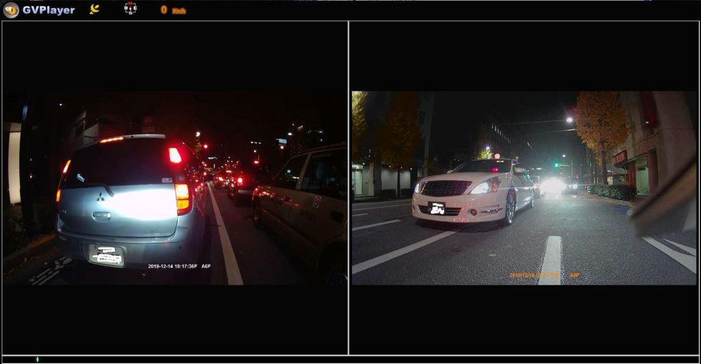 Vsysto「P6F-進化版」の夜間映像2。