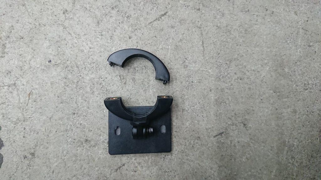 Vsysto「P6F-進化版」のカメラマウント。