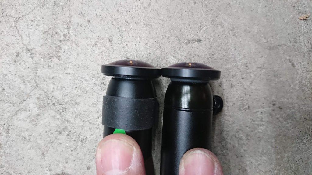Vsysto「P6F-進化版」と「P6F」のカメラ比較。