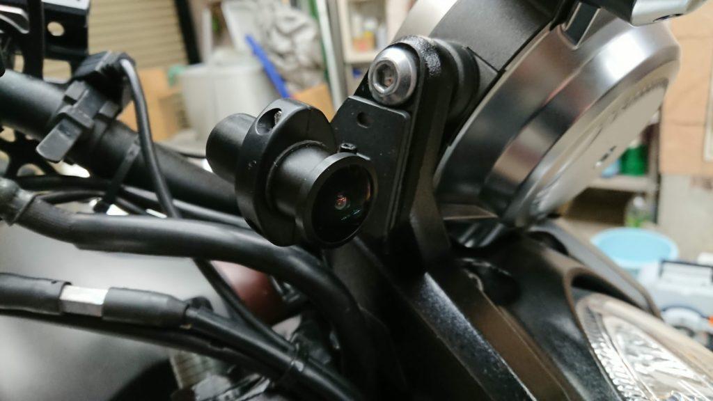 Vsysto「P6F-進化版」のフロントカメラ取り付け。