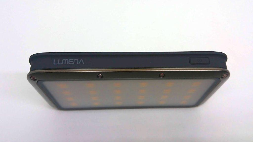 LUMENA「LUMENA2」の操作ボタン。