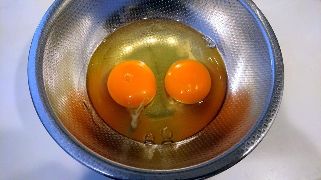 日本ハム「袋のままできるオムライス」には卵を2個使用。