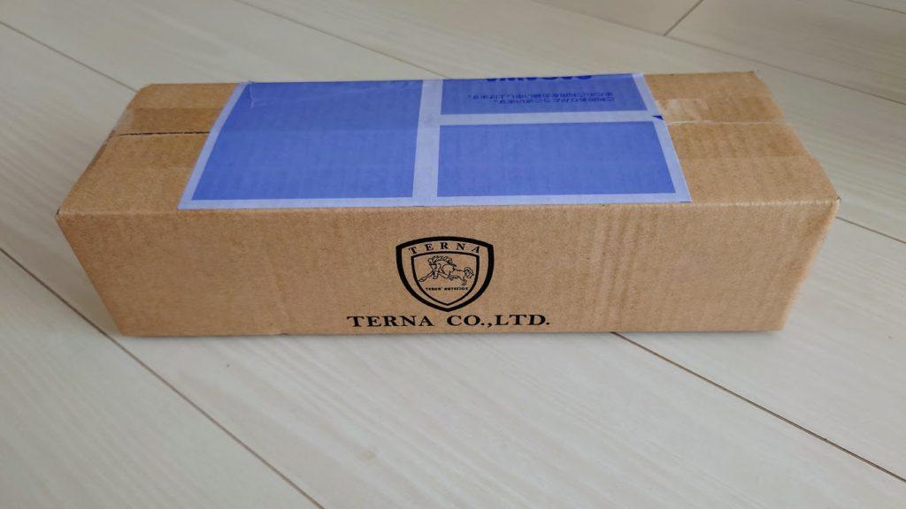 TERNA「あくとりさん(中)」の箱に描かれたエンブレム。